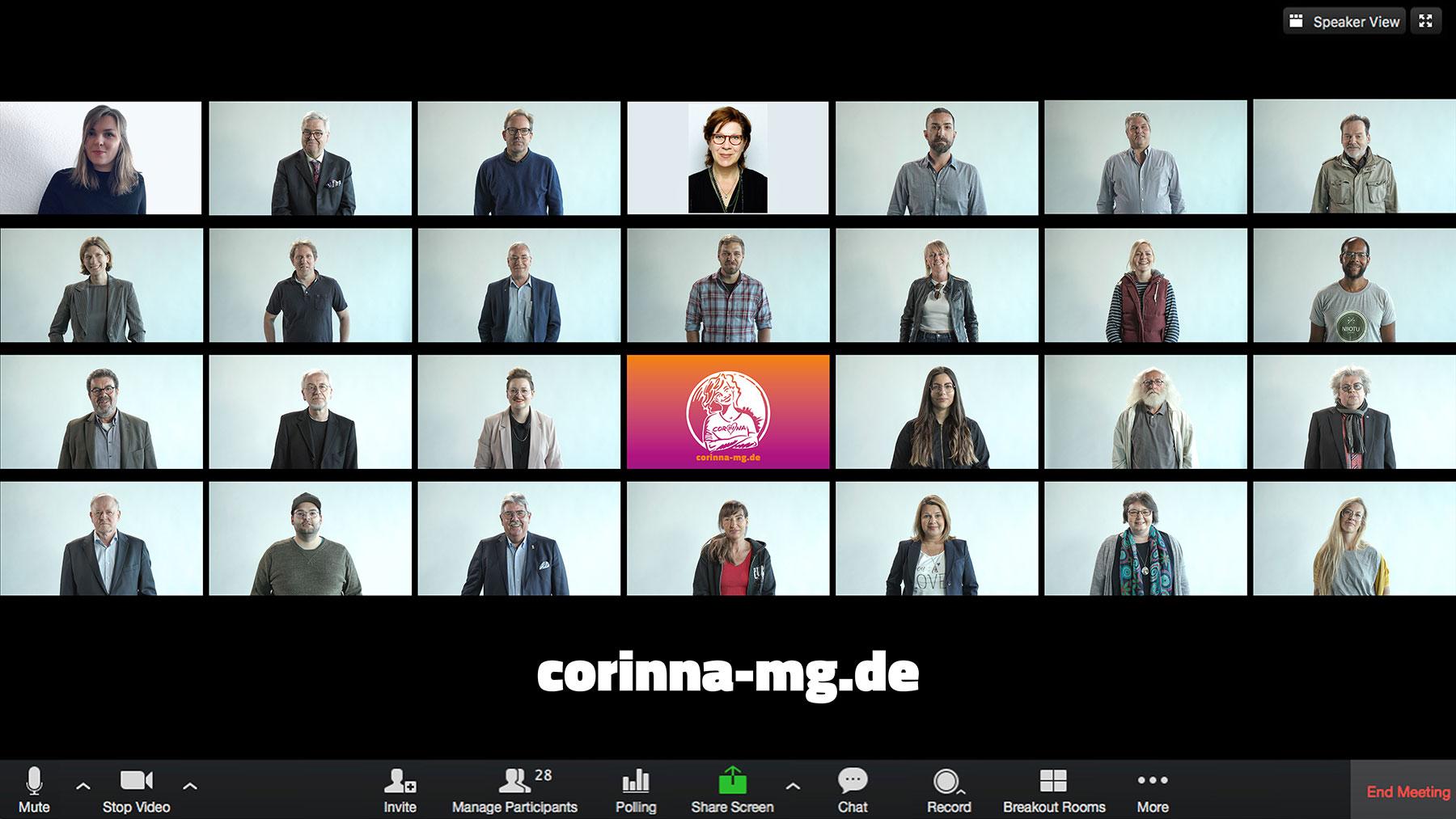 Gladbach.live ist offizieller Streamingpartner und Mitglied von CORINNA e.V.